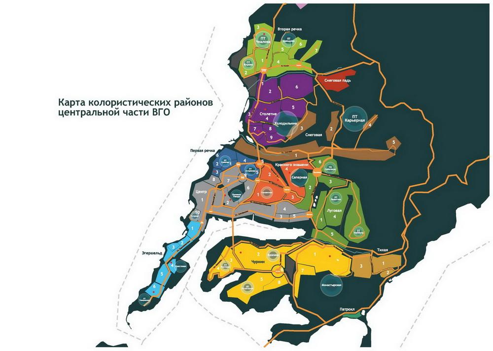 план города Владивостока